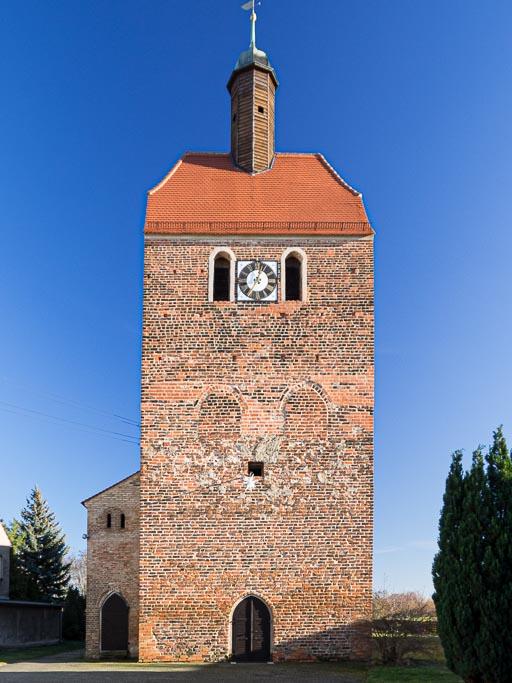 Dorfkirche Bardenitz Westturm
