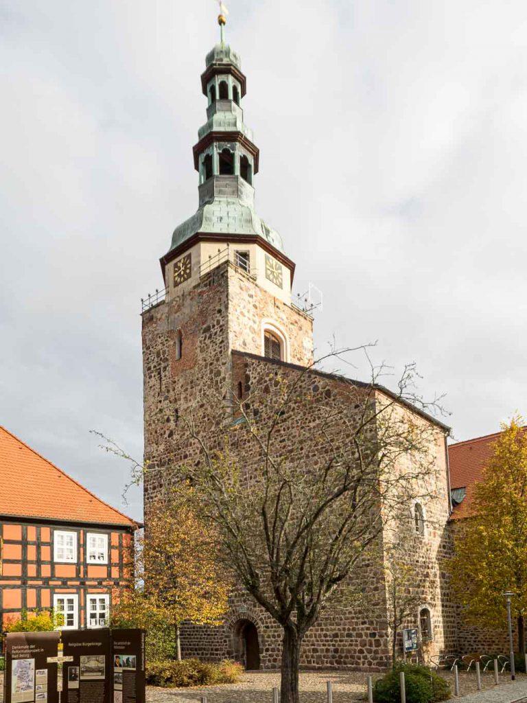 Bad Belzig St. Marienkirche Westturm