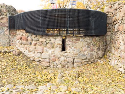 Apsis der romanischen Kapelle