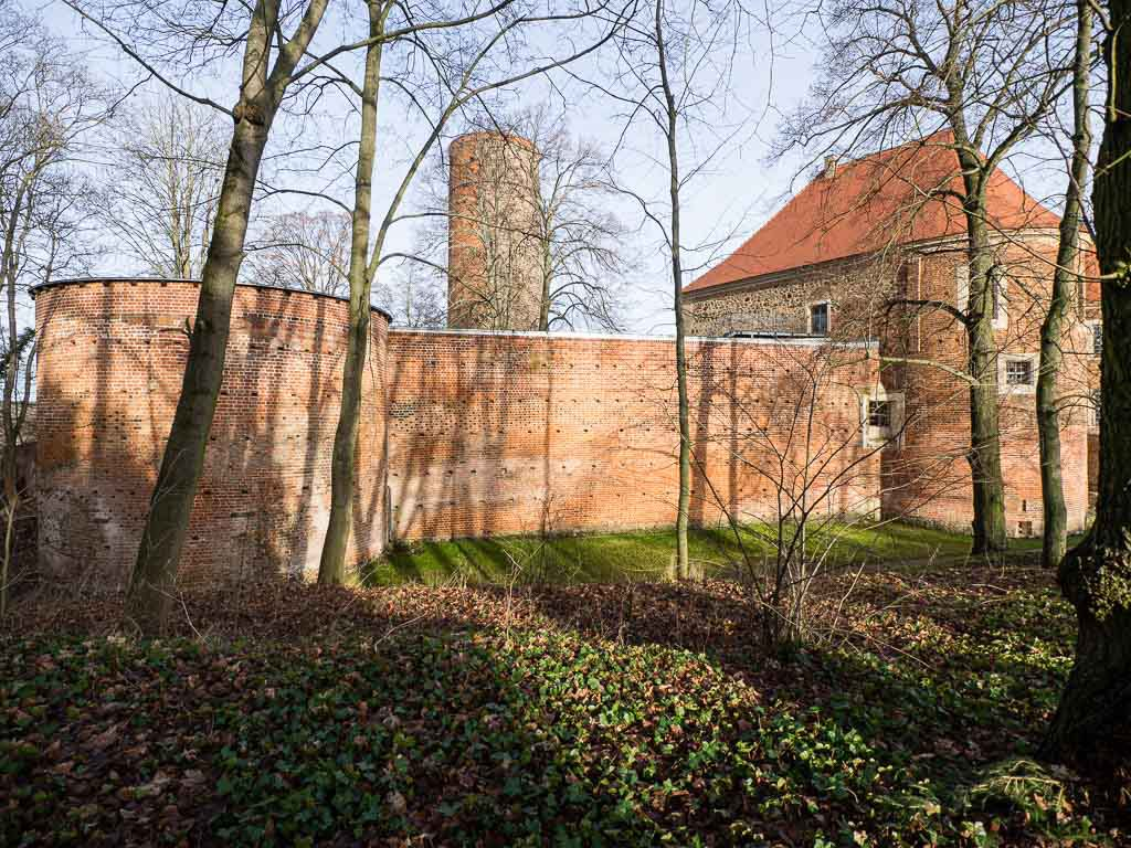Bad Belzig Burg Eisenhardt Südwest-Rondell und Bergfried