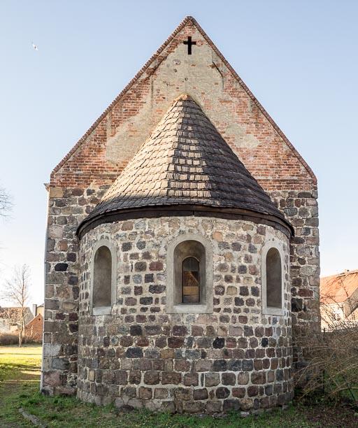 Dorfkirche Dahnsdorf Apsis