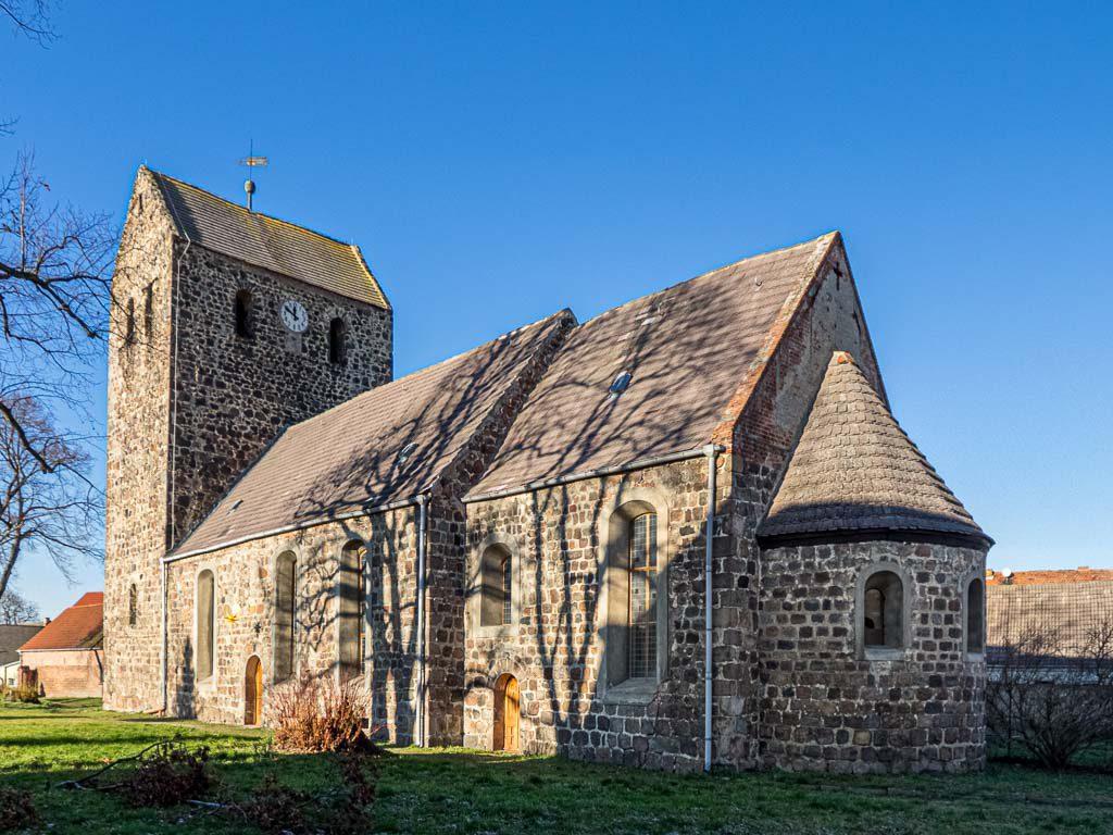 Dorfkirche Dahnsdorf von Südost