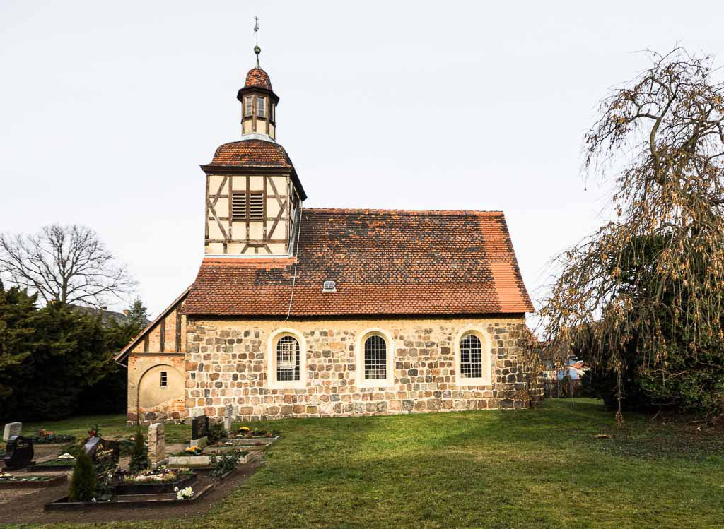 Dorfkirche Neschholz von Süden