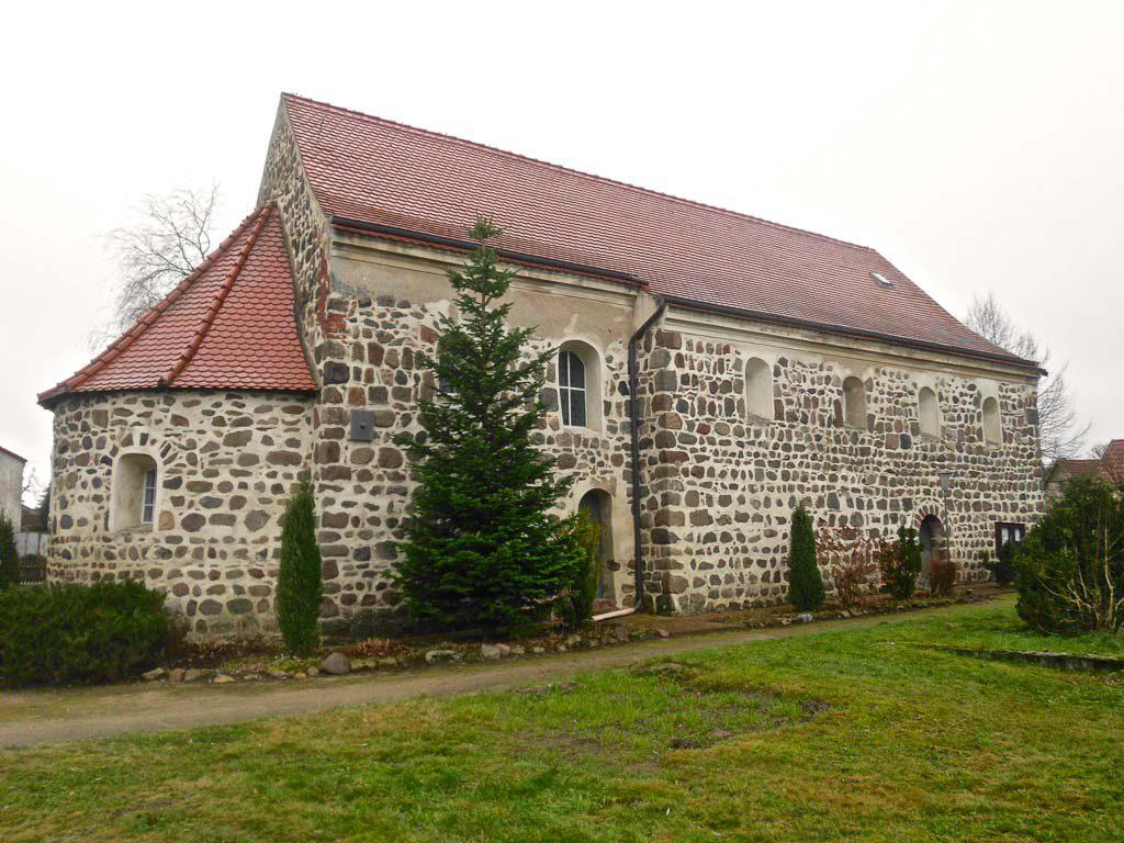 Dorfkirche Jeserig von Nordost augenommen