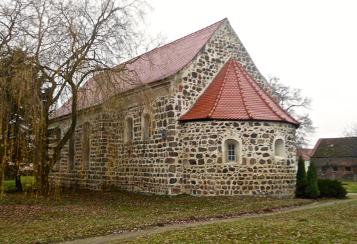 Dorfkirche Jeserig von Südost aufgenommen