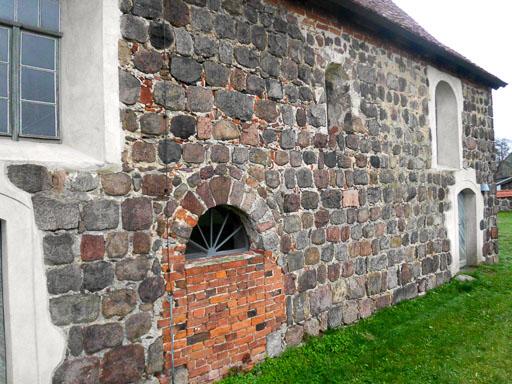 Dorfkirche Lehnsdorf Chor Süden