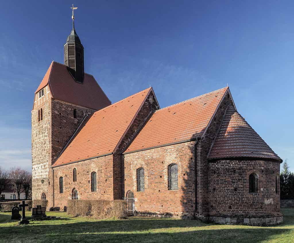Dorfkirche Pechüle aufgenommen von Südost