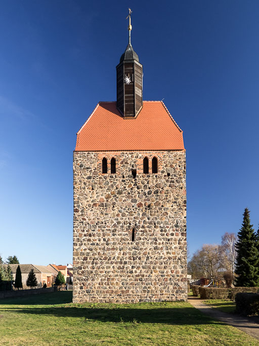 Dorfkirche Pechüle Westturm