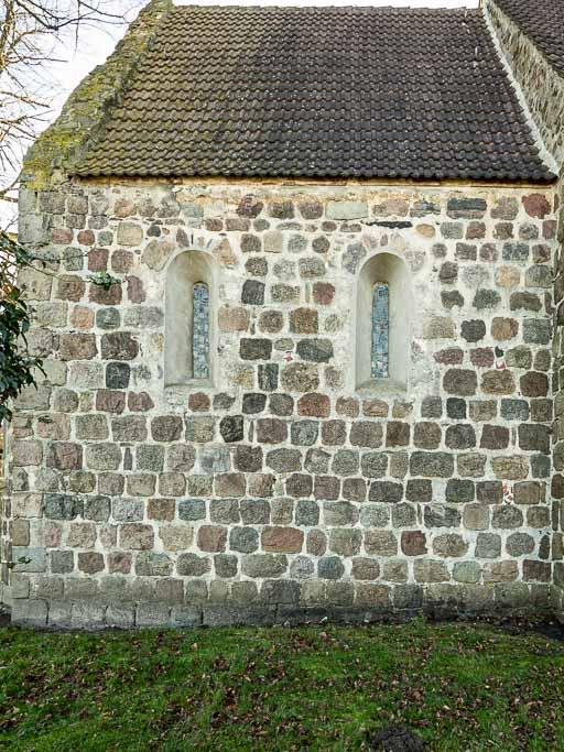 Dorfkirche Preußnitz Chor Nordseite