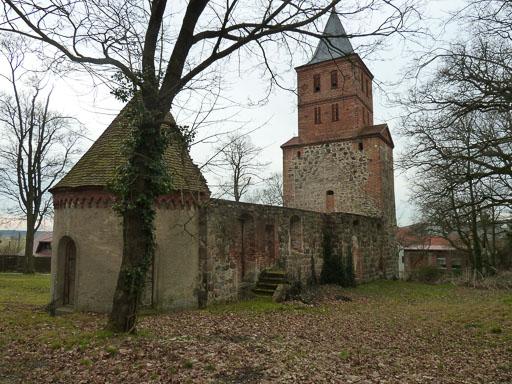 Ruine von Nordost, aufgenommen 2014