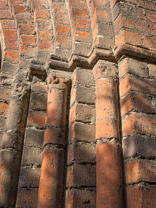Detail der Ornamete des Portals