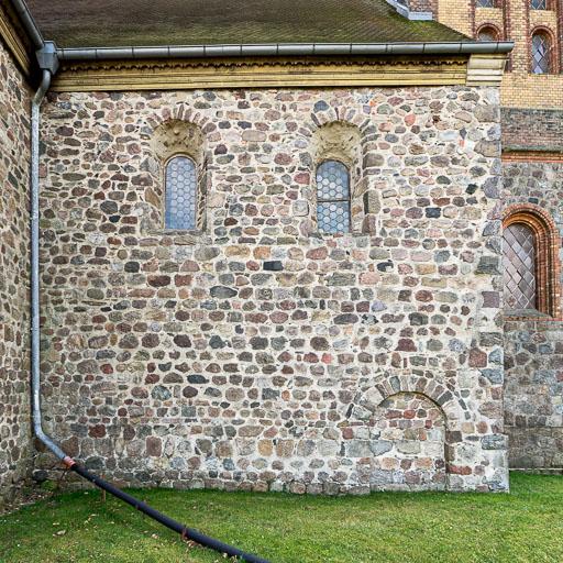 Stadtkirche St. Marien Wiesenburg Langhaus Nordseite