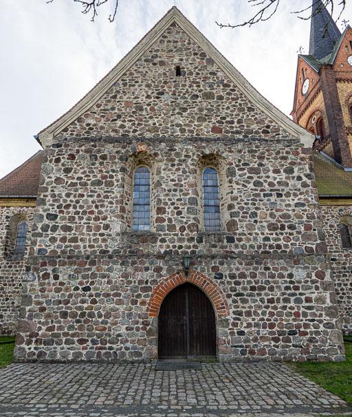 Stadtkirche St. Marien Wiesenburg Querhaus Nordseite