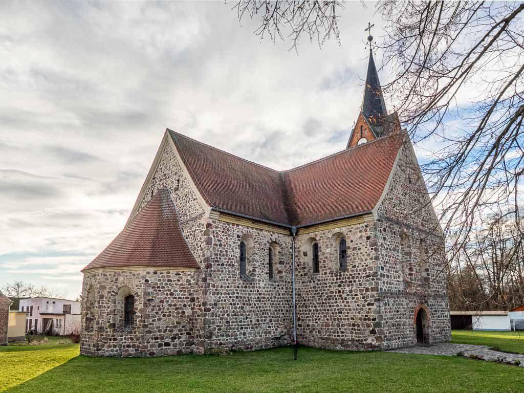 Stadtkirche St. Marien Wiesenburg Nordost