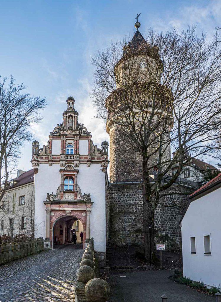 Wiesenburg Tor und Bergfried