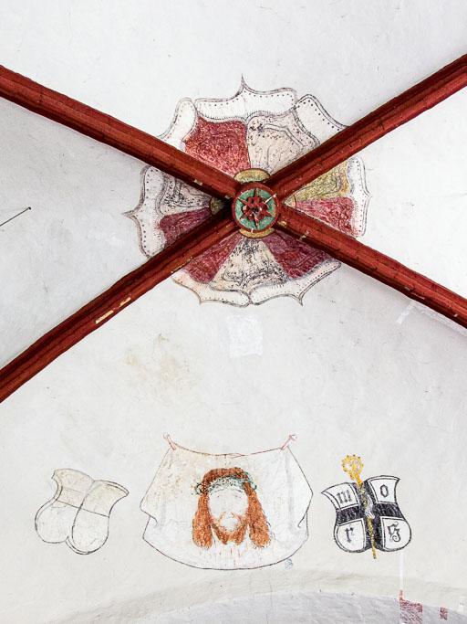 Dorfkirche Bardenitz Schweißtuch der Veronika