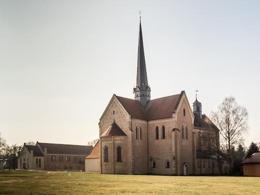 Kloster Dobrilugk Klosterkirche und Refektorium von Nordost