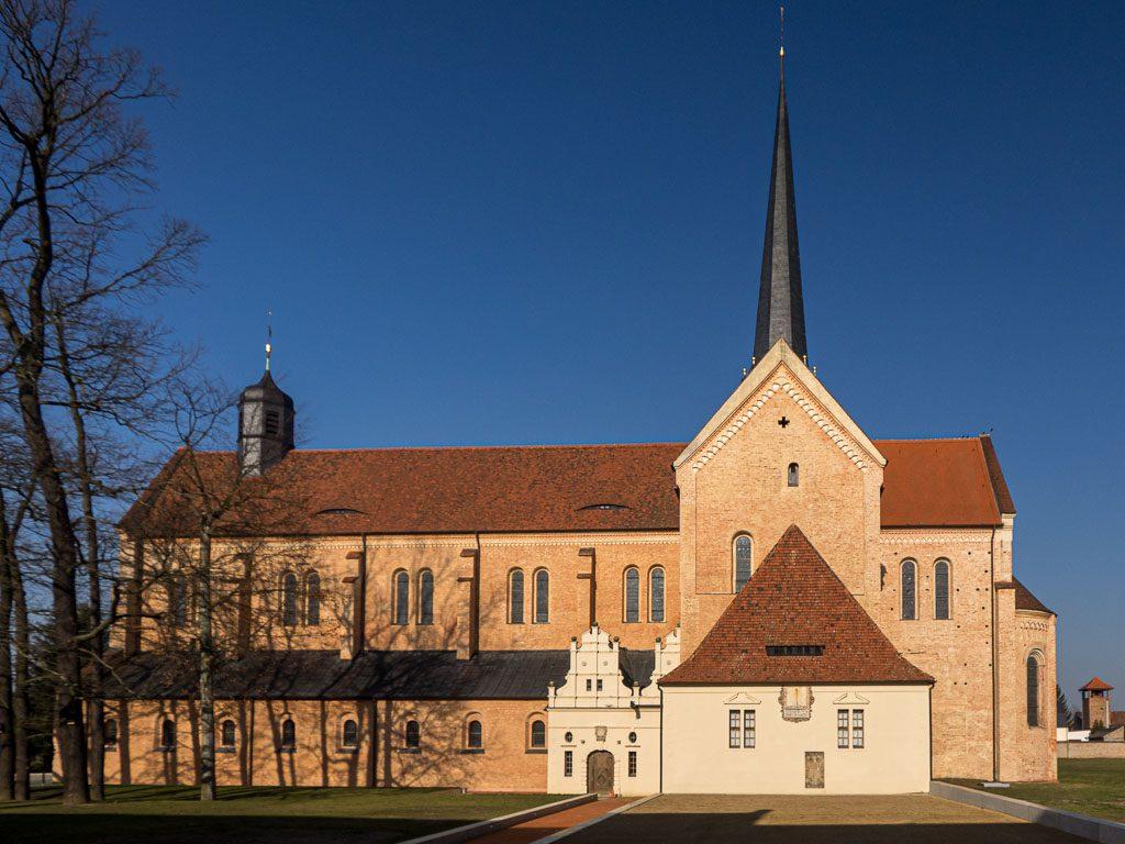 Kloster Dobrilugk Klosterkirche Südansicht