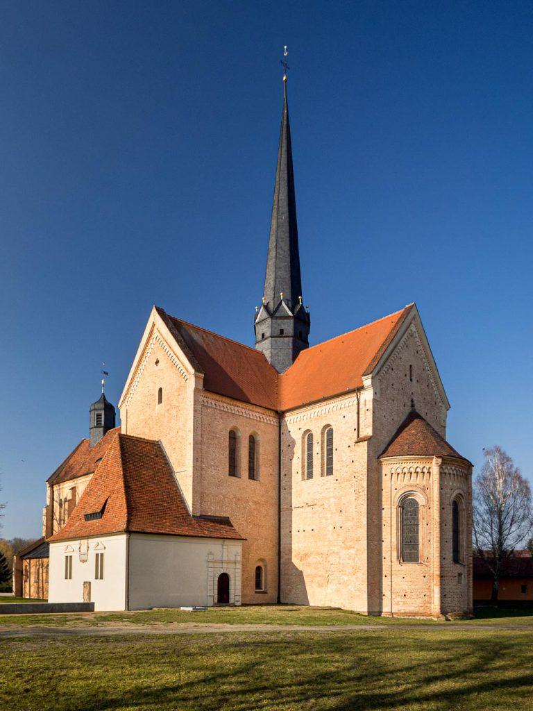 Kloster Dobrilugk Querschiff, Chor und Apsis von Südost