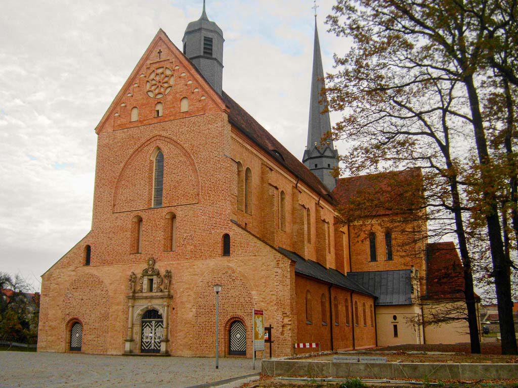 Kloster Dobrilugk Klosterkirche von Südwest