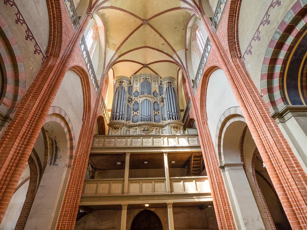 Dom St. Marien zu Havelberg Scholtze-Orgel von 1777