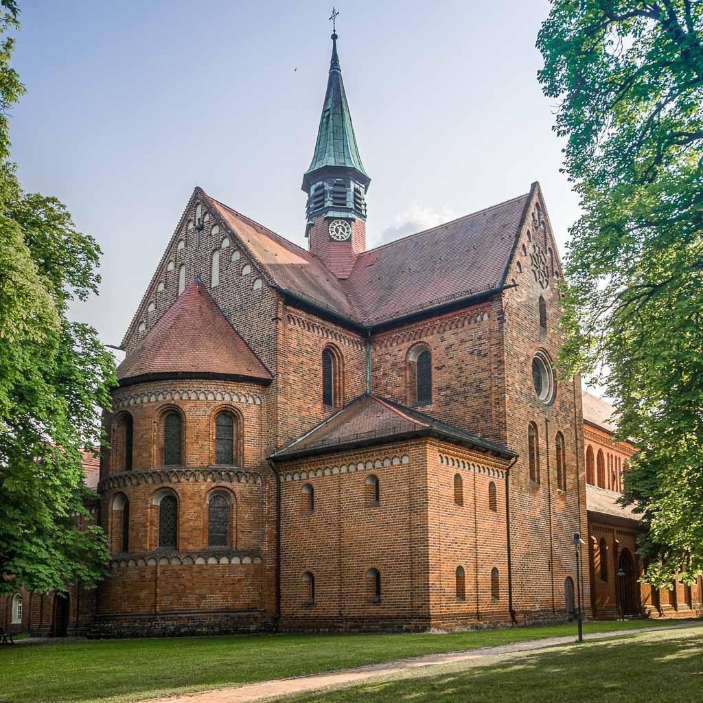 Klosterkirche Lehnin. Apsis, Chor und Querschiff