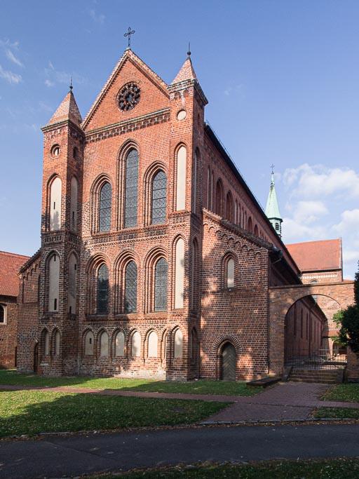 Klosterkirche. Anlage von Nordwest aufgenommen