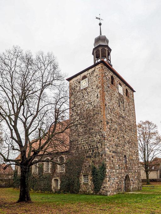 Dorfkirche Groß Machnow Kirche von Nordwest