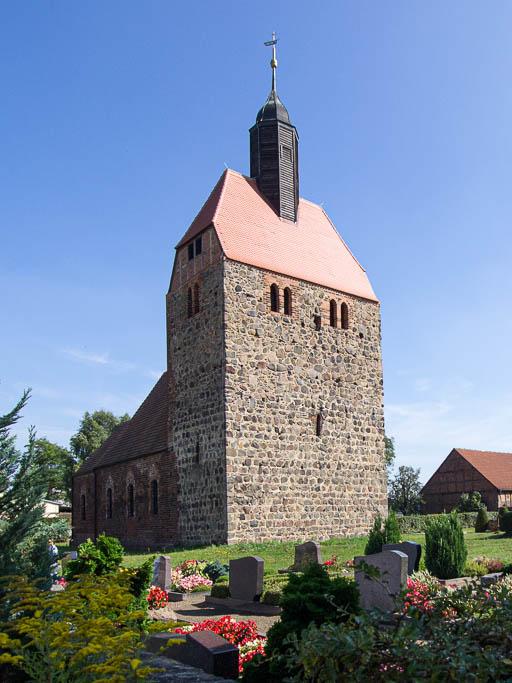 Dorfkirche Pechüle von Nordwest