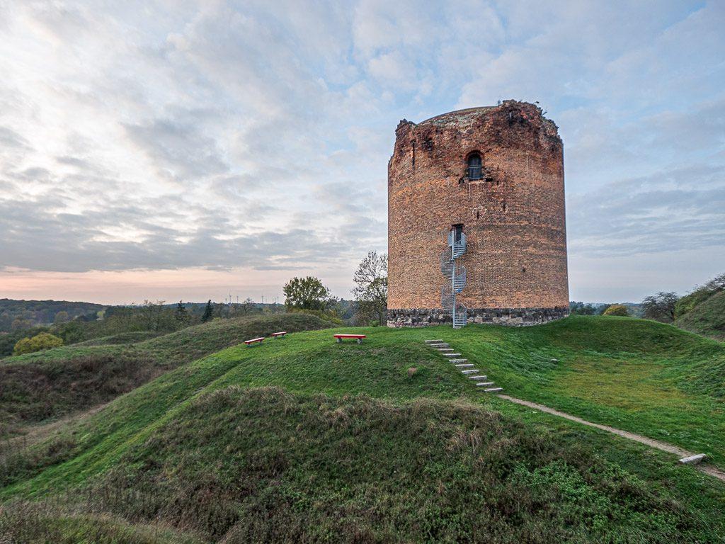 Burg Stolpe Grützpott mit Wallanlage