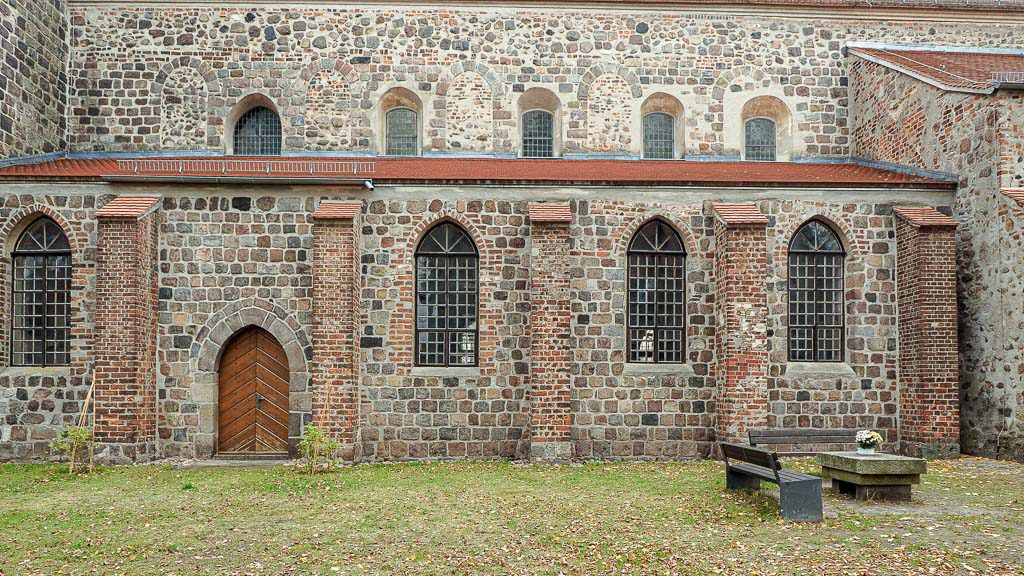 Stadtpfarrkirche St. Marien Strausberg südliches Seitenschiff und Obergaden