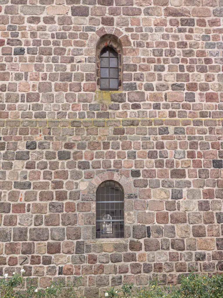 Stadtpfarrkirche St. Marien Strausberg Turmfenster Nordseite