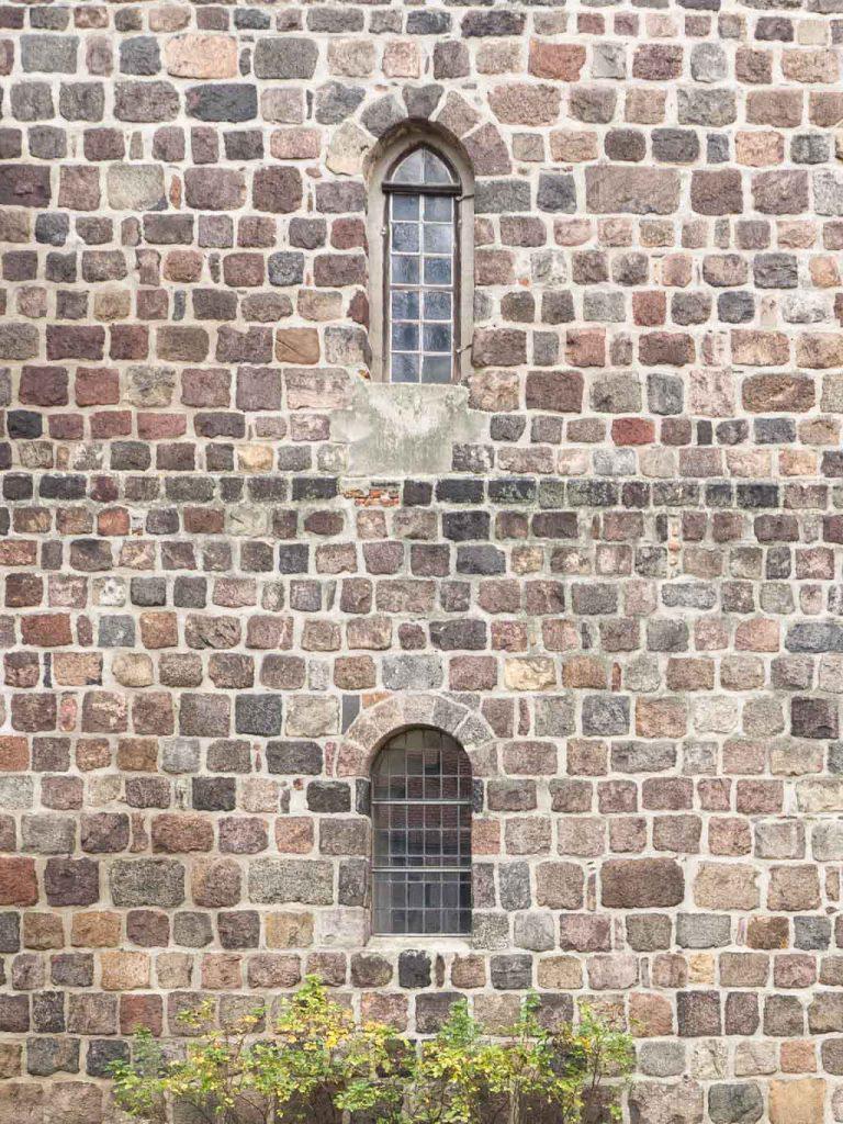Stadtpfarrkirche St. Marien Strausberg Turmfenster Südseite