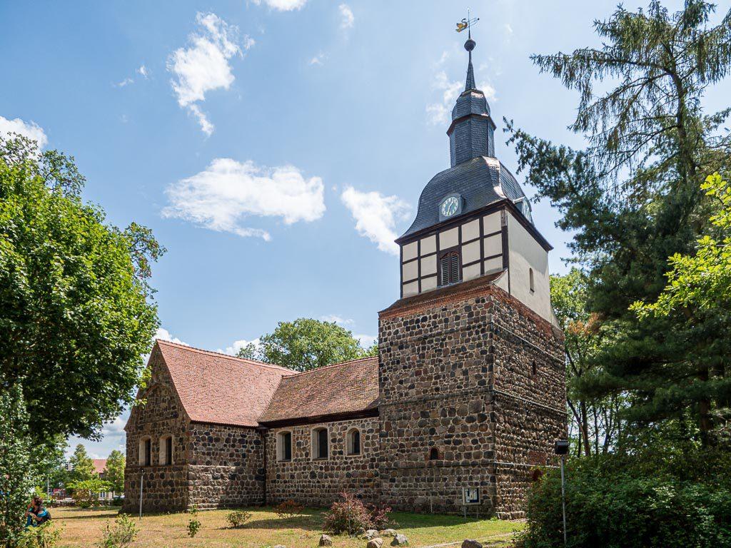 Dorfkirche Wusterwitz. Anlage von Nodwest.