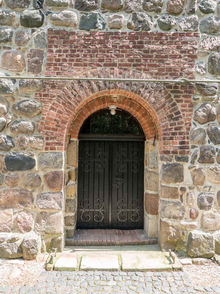 Dorfkirche Wusterwitz Westportal