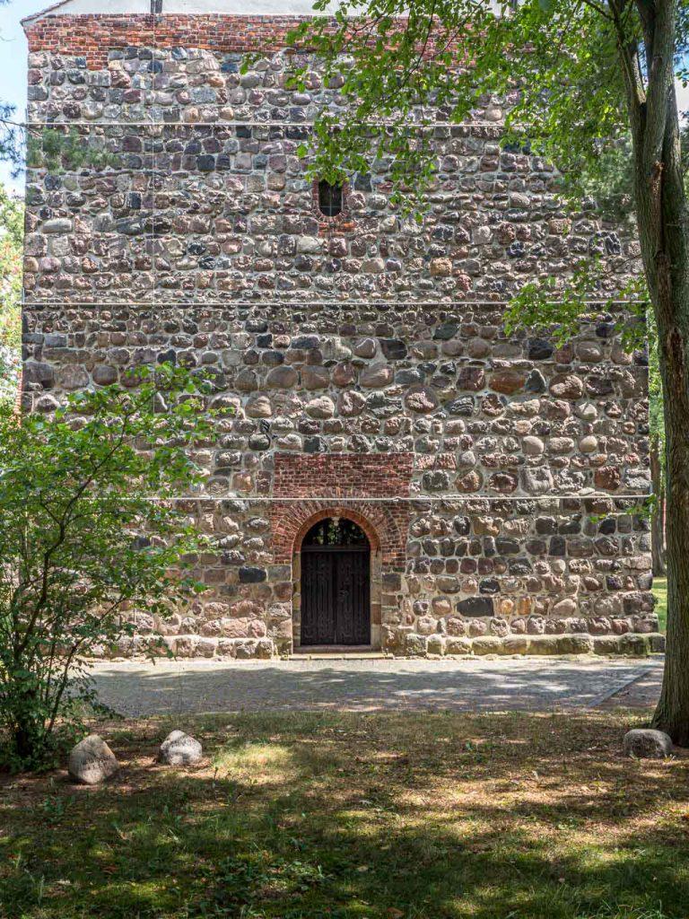 Dorfkirche Wusterwitz Westriegel