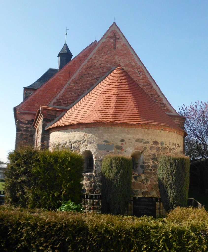 Dorfkirche Bergholz, Apsis