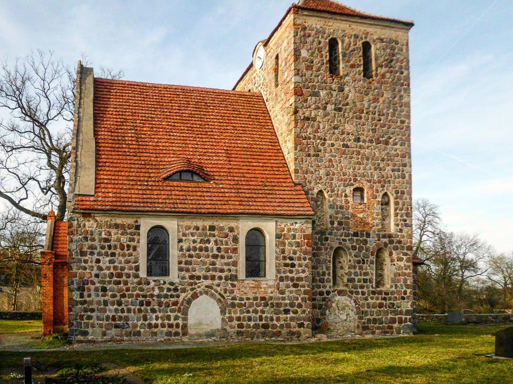 Chorturmkirche Grünow Südansicht