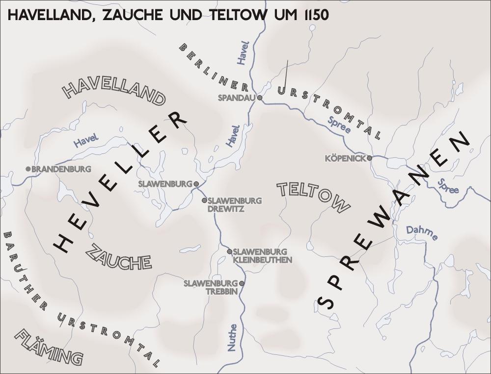 Geschichte Brandenburgs in romanischer Zeit. Slawen im Brandenburger Raum um 1150