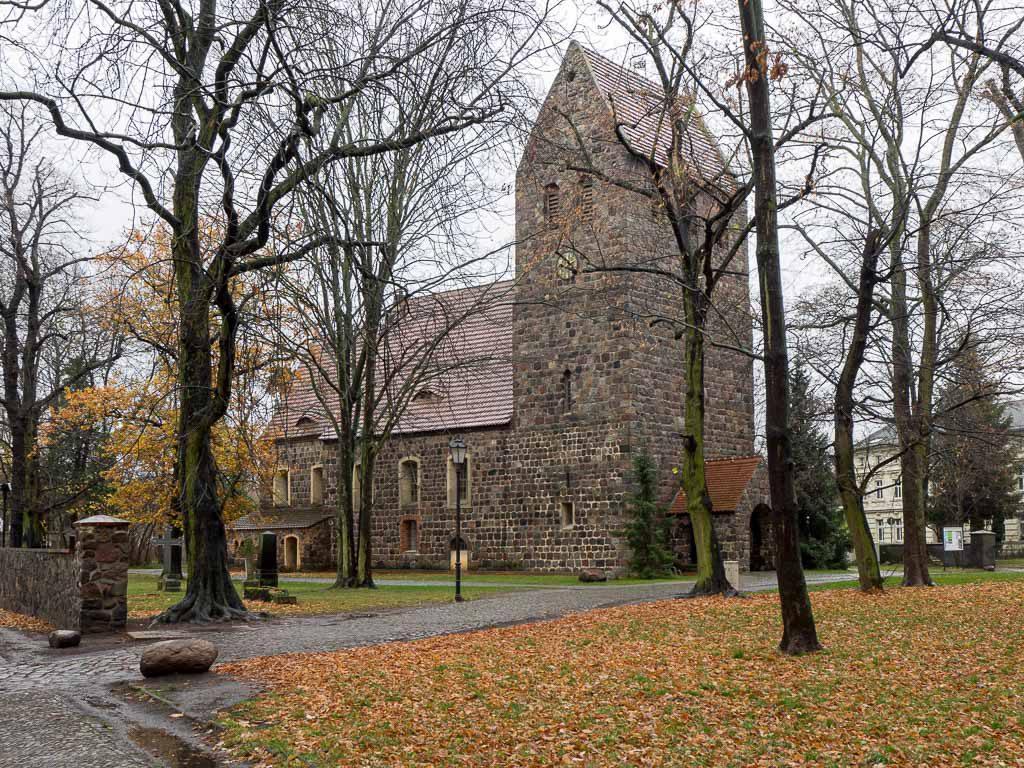 Dorfkirche Marienfelde von Nordwest aufgenommen