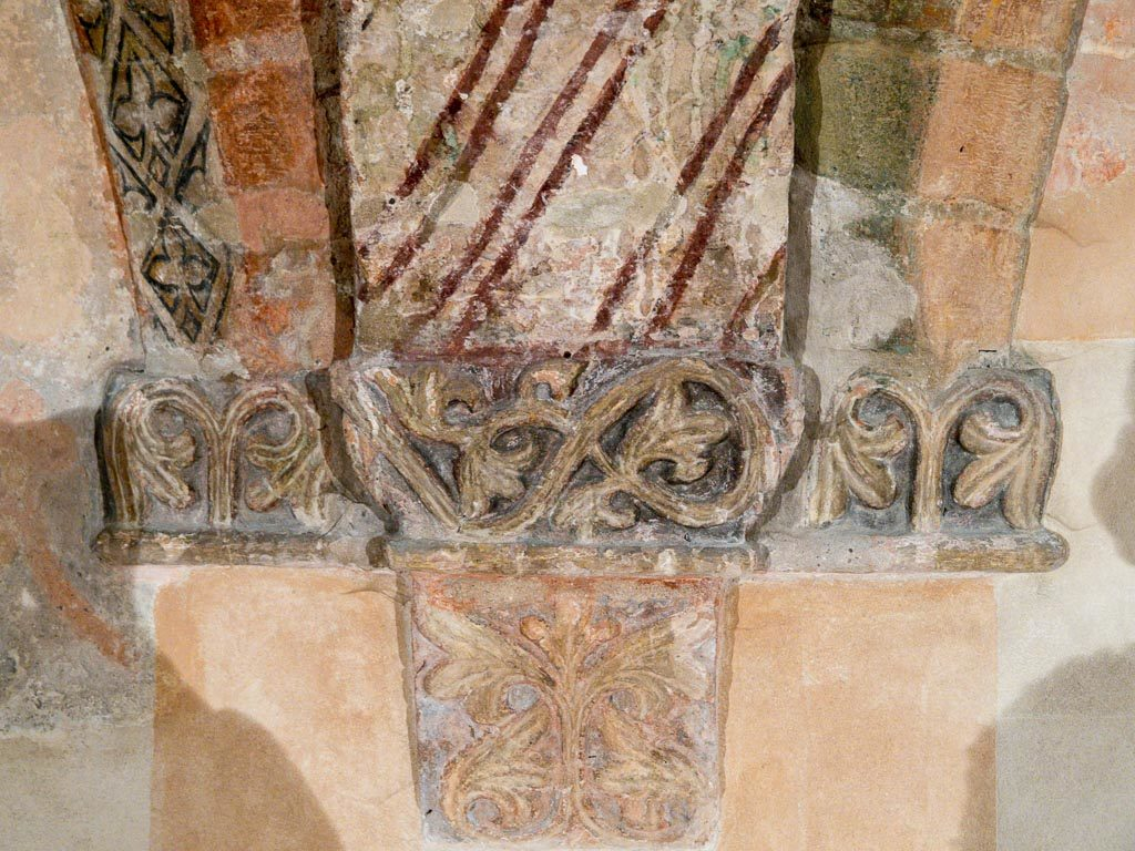Detail in der Bunten Kapelle