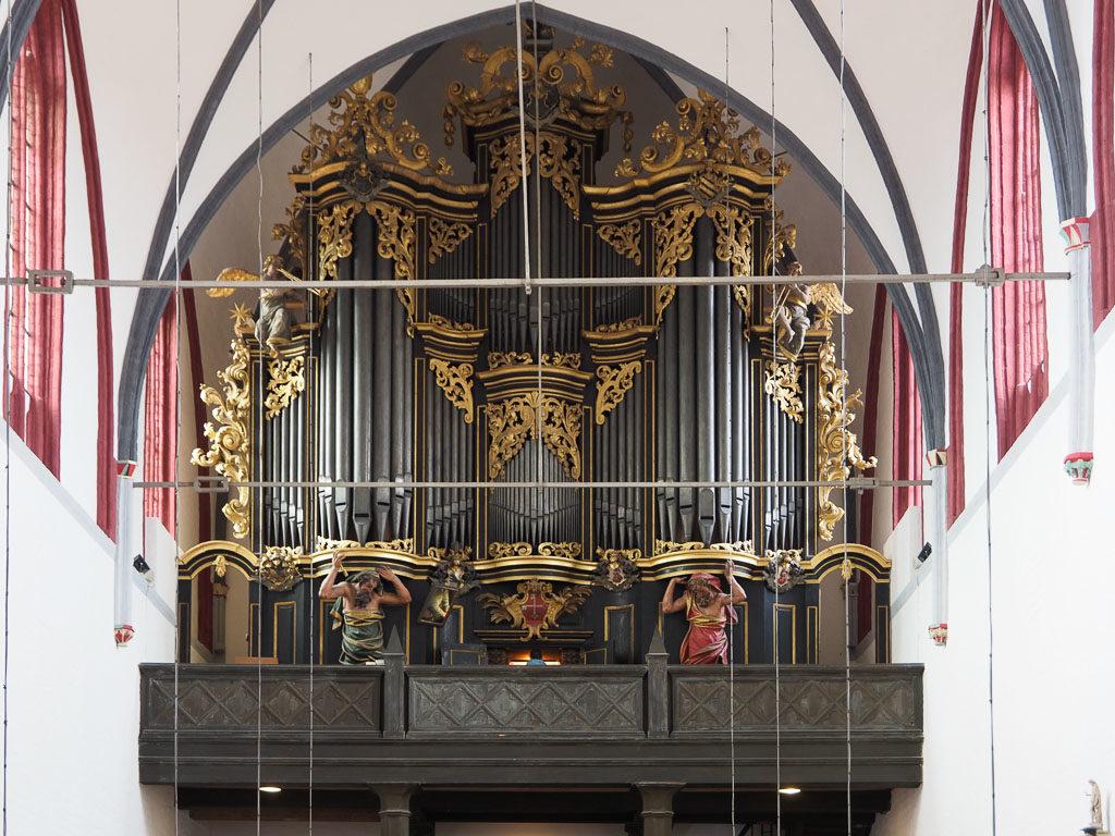 Orgel von Joachim Wagner 1723 bis 1725