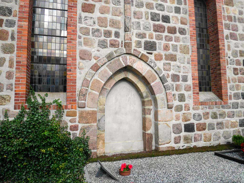 Dorfkirche Frankena Portal