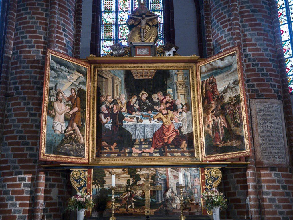 St. Gotthardskirche Spätgotischer Flügelaltar