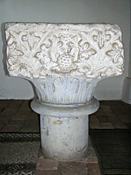 Dorfkirche Gruhno romanischer Taufstein