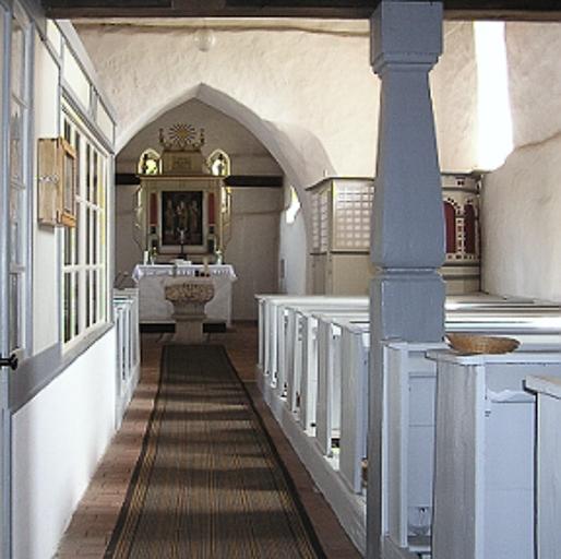Dorfkirche Gruhno Innenansicht
