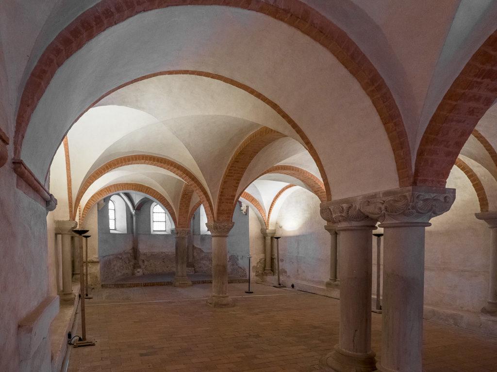 Stiftskirche Jerichow Krypta Blick nach Osten