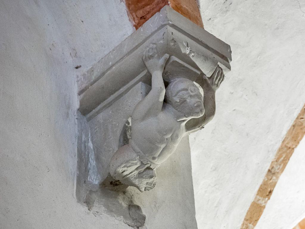 Stiftskirche Jerichow Krypta Plastisches Dekor