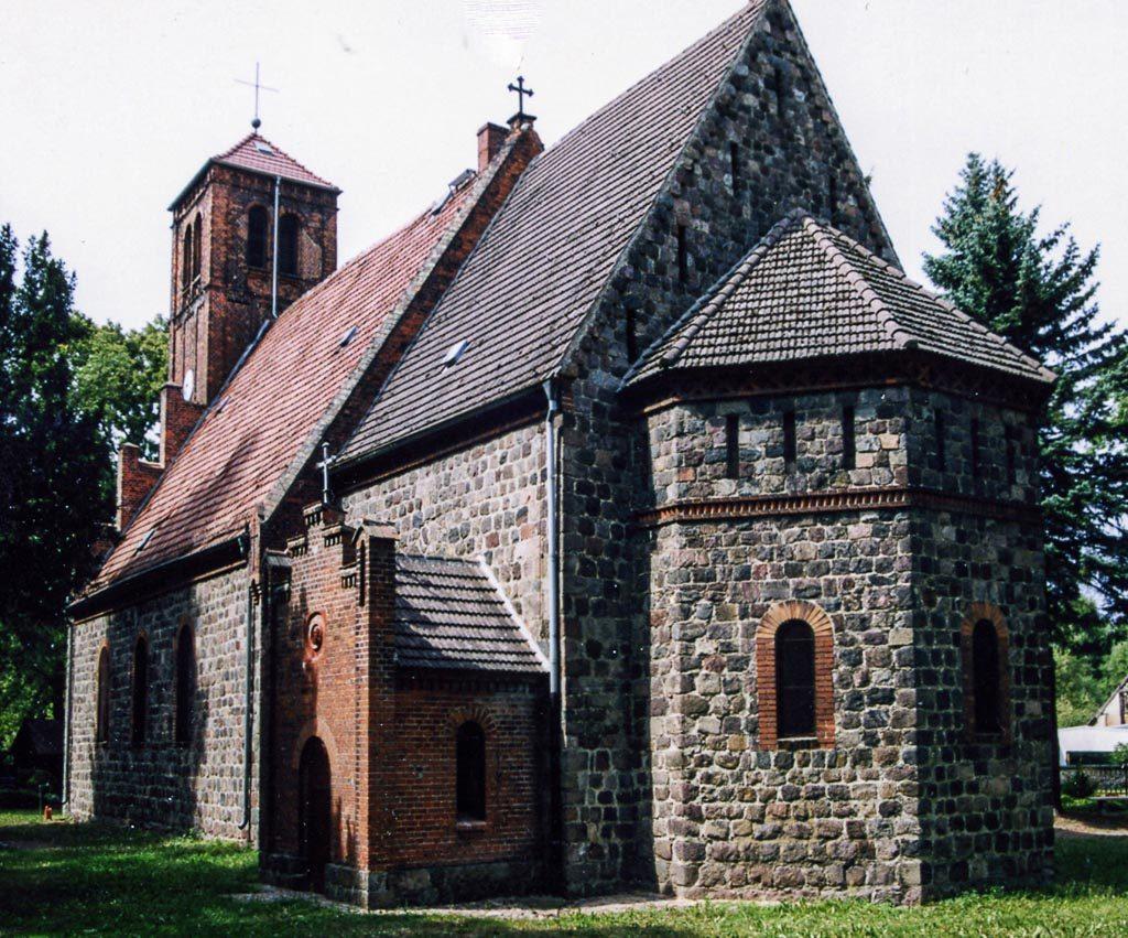 Dorfkirche Ladeburg Ansicht von Südost