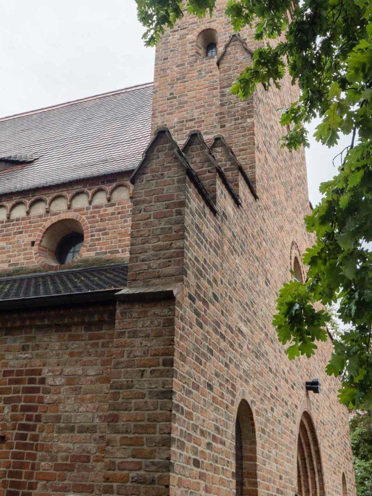 St. Nikolaikirche Detail Westfassade